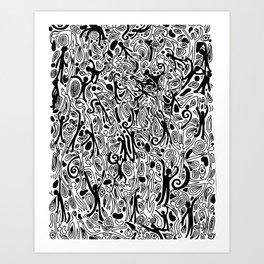 Ooey Gooey Art Print