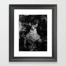 Royal sphynx decay Framed Art Print