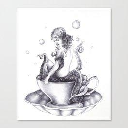 Tranquili-Tea  Canvas Print