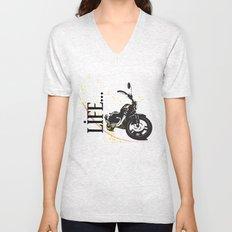 Motorcycle lifestyle  Unisex V-Neck