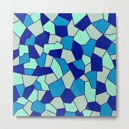 Hard Mosaic 04 Metal Print