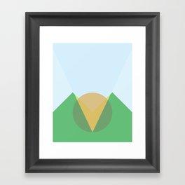 Cacho Shapes XCII Framed Art Print