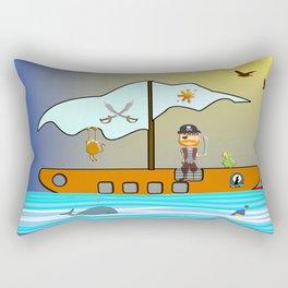 The Pirate Rectangular Pillow