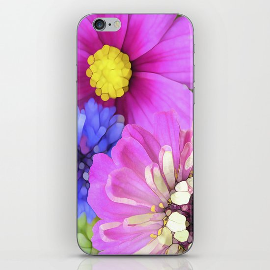 For the Love of Color iPhone Skin