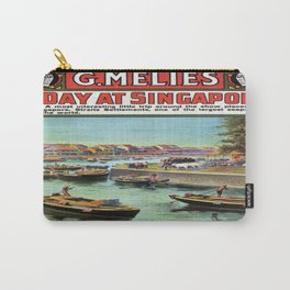 Vintage poster - Singapore Carry-All Pouch