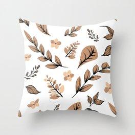 Flower Design Series 16 Throw Pillow