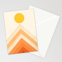 Mountainscape 4 Stationery Cards