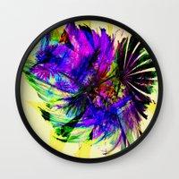 fancy Wall Clocks featuring Fancy by Art-Motiva