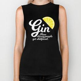Gin. How classy people get shitfaced – Lemon Biker Tank