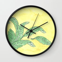 Acanthus Leaves Wall Clock