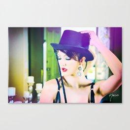 4951 Playful Lady Mistress Dancer Canvas Print