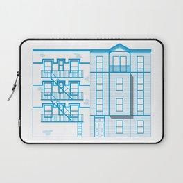 Buildings - nyc vs istanbul Laptop Sleeve