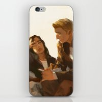 stucky iPhone & iPod Skins featuring Stucky, Warm Afternoon by MMCoconut