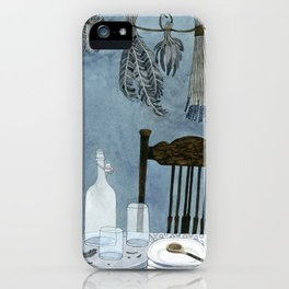 Still life with dried herbs iPhone Case