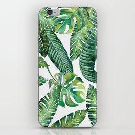 Jungle Leaves, Banana, Monstera #society6 iPhone Skin