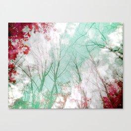 Candy Stripe Canvas Print