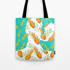 Pineapples Tote Bag
