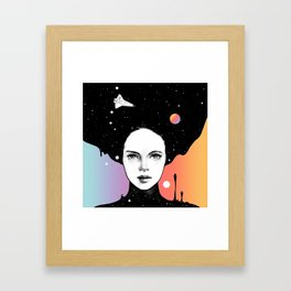 If You Were My Universe Framed Art Print