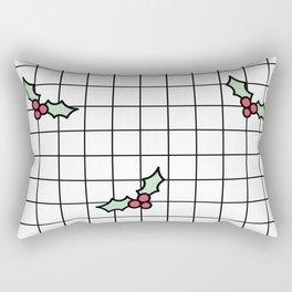 Holly Grid Rectangular Pillow