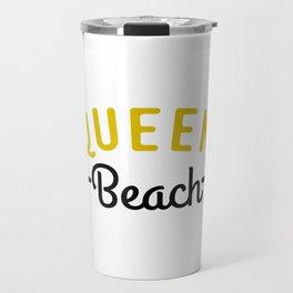Queen Beach Travel Mug