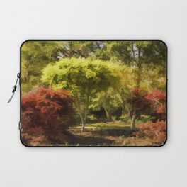 A Walk In The Woods Painting Laptop Sleeve