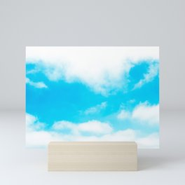 Sky Photography Love The Sky Breeze Mini Art Print
