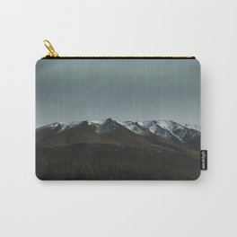Hiking around the Mountains & Valleys of New Zealand Carry-All Pouch