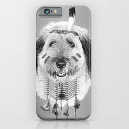 Tribe dog Indy iPhone Case