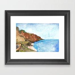Playa del Socorro, Los Realejos, Tenerife Framed Art Print
