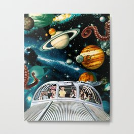 Spaceliner Express Metal Print