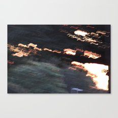 Sunset Madness Canvas Print