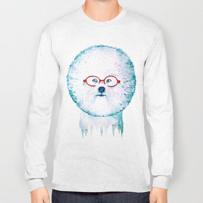 Dog-dandelion Long Sleeve T-shirt