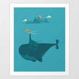 Nature's Submarine Art Print