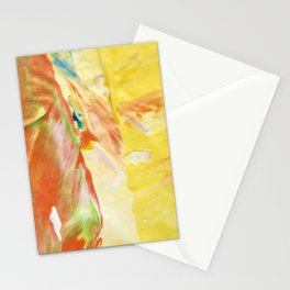 Abstraction - Sunny - by LiliFlore Stationery Cards