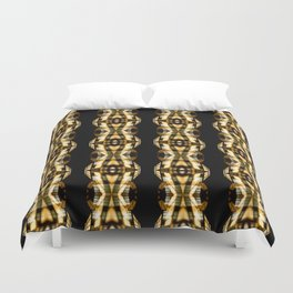 DIGI TRIBE YELLOW Duvet Cover