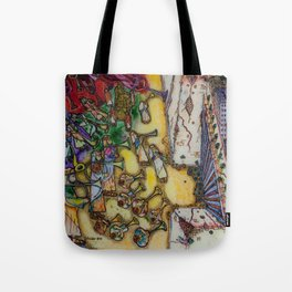 The trumpets of Jericho Tote Bag