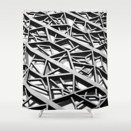 structure Shower Curtain