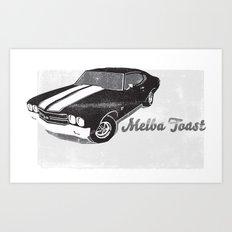 Chevelle - Melba Toast edition Art Print