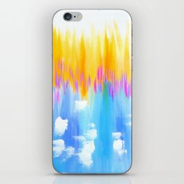 abstract pastels iPhone Skin