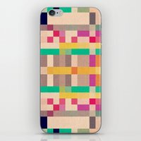 quilt iPhone & iPod Skins featuring quilt by spinL