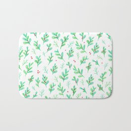 Under the Mistletoe Bath Mat