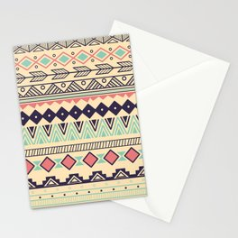 Aztec pattern 02 Stationery Cards