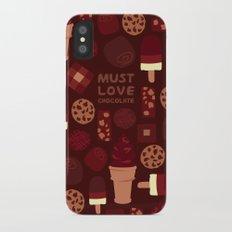 Must Love Chocolate Slim Case iPhone X