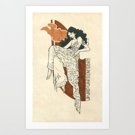 Why would I want to leave serenity? - Inara Art Print