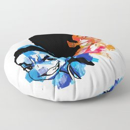 Huey x Riley Red N Blue Floor Pillow