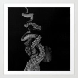 Tentacle IV Art Print