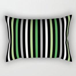 Aromantic Pride Vertical Stripes Rectangular Pillow
