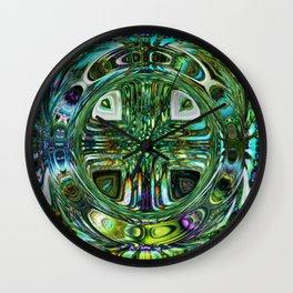 PRETTY BUBBLES Wall Clock