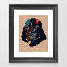 Colour Star Wars Framed Art Print