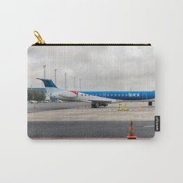 The plane at the airport Carry-All Pouch